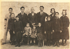 family portrait (shoot what you see) Tags: family portrait boots 1920s aunt uncle worldwar2 ww2 photo sepia italy switzerland
