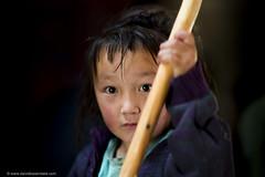 Churning the Milk (www.davidbaxendale.com) Tags: portrait child nomad kazakh mongolia lonely planet