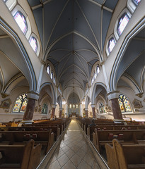 Holy Rosary Cathedral (Jovan Jimenez) Tags: holyrosary cathedral french gothic architecture bc vancouver bristishcolumbia canada hdr pano panorama samsung s7 edge cell phone kolor autopano pro giga autopanopro metropolitan 19thcentury romancatholic archdiocese galaxy mobile indoor inside interior camera fv5 smg935t gigapixel pixel