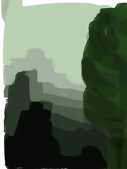 2015.08.02 Canyons (Julia L. Kay) Tags: nature natural woods trees foliage forest landscape green juliakay julialkay julia kay artist artista artiste knstler art kunst peinture dessin arte woman female sanfrancisco san francisco sketch dibujo daily everyday 365 mobileart mobile idraw isketch iart digital mda iamda mobiledigitalart ipad touchscreen fingerpaint fingerpainter touch tablet iphone idevice ithing procreate procreateapp procreateapponly