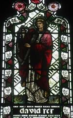 [45602] St Editha, Tamworth : King David (Budby) Tags: tamworth staffordshire church window stainedglass preraphaelite