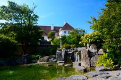 Koningspark Oostende. (ost_jean) Tags: koningspark oostende belgië belgica belgique belgium nature ostjean nikon d5200 tamron sp af 1750mm f28 xr di ii vc ld aspherical if b005 waterval water waterfall green pool