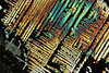 ferrous chloride (Ivan_p_) Tags: chloride crystal crystals chemistry microscopy macro science abstract dendrites polarization