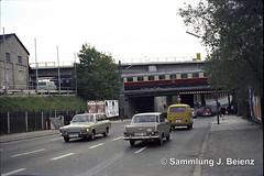 Mnchen Balanstrasse Eisenbahnunterfhrung 1970 (Pacific11) Tags: mnchen munich 1970 1971 vintage alt selten bilder bayern balanstrasse unterfhrung