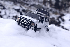 Ford F-350 6 door 6wd 35 (My Scale Passion) Tags: ford f350 meng monogram losi micro mini crawler scale rc modeling custom snow snowrun crawling climbing expedition northpole southpole truck double dual dually duallie 6door 10wd 10x10 125 124 miniz overland landcruiser build