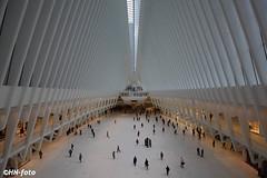 Oculus ... (elektro_heiko) Tags: bahnhof oculus newyork usa amerika manhatten transportationhub