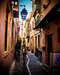 Rethymno_MelissaAlly_Medium (schukri) Tags: greece greek honeymoon eurotrip europe mediterranean ally rethymno latern lanterns ivy melissa oldtown