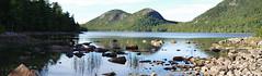 Jordan Pond, Acadia National Park (vbd) Tags: pentax k3 vbd smcpentaxda55300mmf458ed me maine park newengland vista acadianationalpark reflection jordanpond handheld manualfocus lake bubblemountains pond