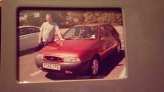 Photo of Me and my old car. I would love to know where it is now