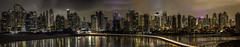 A View of Panama (Bernai Velarde-Light Seeker) Tags: panama city central centro america bernai velarde buildings edificios apartments apartamentos bernaivelarde sea mar ocean oceano pacific pacifico water agua corredorsur night noche