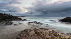 Punta de Canyelles. (Llana) (Ernest Bech) Tags: catalunya girona altempord costabrava albada sunrise sortidadesol llan