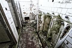 Neat Restroom (Luca Bobbiesi) Tags: abandoned decay coldwar nato caserma restroom bagni montegrappa veneto canoneos7d canonefs1022mmf3545usm