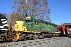 RBMN 3056 EMD SD40-2 (Trucks, Buses, & Trains by granitefan713) Tags: train freighttrain railroad railfan trailingunit foreignpower rbmn readingnorthern readingbluemountainnorthern emd electromotive emdsd402 sd402