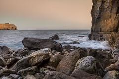 Rocky Bay (garethleethomas) Tags: rocky bay coast sea slowshutter longexposure sunset pembrokeshire wales uk canon calm relaxing
