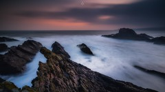 All Consumed (Augmented Reality Images (Getty Contributor)) Tags: canon clouds coastline cullen landscape leefilters littlestopper longexposure morayshire rocks scotland seascape sunrise water waves