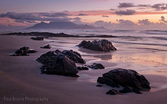 Derde Steen Sunset (Panorama Paul) Tags: paulbruinsphotography wwwpaulbruinscoza southafrica westerncape capetown tablemountain derdesteenbeach clouds rocks waves beach sunset nikond800 nikkorlenses nikfilters visipix