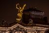 Eros - Der Gott der Liebe - The god of love (ralfkai41) Tags: nacht night eros architektur nightshot statue kunstakademie sculpture dresden architecture gold nachtforografie skulptur relief academyofart