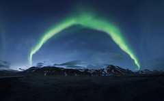 Iceland Lights (mitalpatelphoto) Tags: snaefellsnes winter adventure aurora auroraborealis blue clouds europe explore green horizontal iceland landscape longexposure mountain nikon northernlights panorama photography spring travel visit