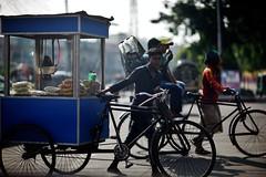Cross My Cart (N A Y E E M) Tags: rickshawvan rickshaw candid today afternoon street roundabout kazirdewri chittagong bangladesh windshield explored