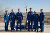 jsc2016e181839 (NASA Johnson) Tags: expedition 50 peggy whitson preflight prelaunch training baikonur cosmodrome cosmonaut hotel tree planting medical checkout thomas pesquet jack fischer flight suit international nasa roscosmos esa france