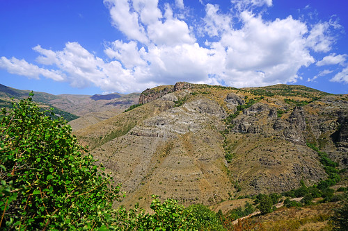 Magnificent view of Vayots Dzor mountains, Armenia