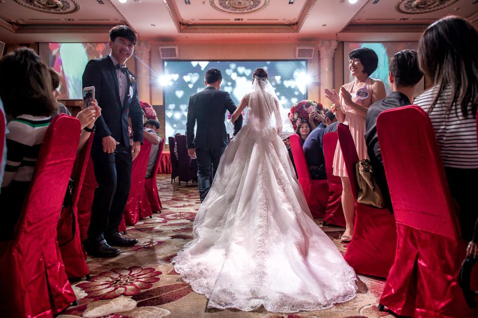 台南婚攝 婚禮紀錄 情定婚宴城堡 C & M 130