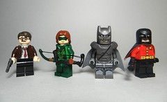 Lego DC Universe Minifigures #1 (Sir Doctor) Tags: lego batman dc custom robin superman commissioner gordon green arrow bow
