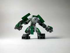 M.K.008 Redux - Mark III (Jay Biquadrate) Tags: mf0 mfz moc microscale mobileframezero mech mecha lego