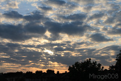 Soulful Clouds... (M!rage008) Tags: mirage008 mirage mirage008photography clouds cloud skies sky dark intense bright sunset covered dense heartfelt soul soulful