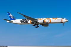 JFK | B777-300ER ANA 'Star Wars BB-8' | JA789A (Mickal CASTAING) Tags: jfk kjfk newyork b777300er b77w ana allnipponairways nh ana104 nh104 starwars bb8 ja789a