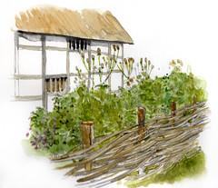 Garden study for Coppards