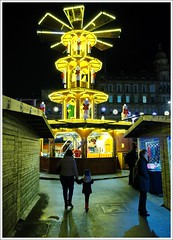 George Square Christmas Market (Ben.Allison36) Tags: george square christmas market glasgow scotland night shot hand held