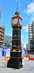London Trip, Little Ben Clock, First Erected In 1892 (Martin Pettitt) Tags: dslr 2016 nikond7100 uk clock august citycentre summer capital outdoor littleben london city victorian afsdxvrzoomnikkor18200mmf3556gifedii