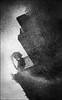 F-F-147A0192-BW-Canon 5DIII-Canon 24-105mm-May Lee 廖藹淳 (May-margy) Tags: maymargy bw 黑白 大樓 平台 欄杆 人像 雨傘 下雨 地坪 水灘 倒影 臉譜 線條造型與光影 天馬行空鏡頭的異想世界 街拍 心象意象與影像 台北市 台灣 中華民國 taiwan repofchina facesinplaces mylensandmyimagination linesformandlightandshadowas naturalcoincidencethrumylens humaningeometry blur bokeh f147a0192bw puddle staircase portrait silhouette umbrella reflection raining floor streetviewphotographytaiwan taipeicity canon5diii canon24105mm maylee廖藹淳 秋雨 心象攝影 心象