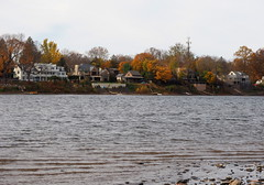 A Cold Morning (pilechko) Tags: newhope pennsylvania buckscounty delawareriver river water cloudy color autumn