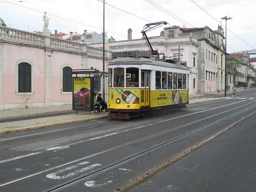 Tram 572 de Lisbonne (Portugal)