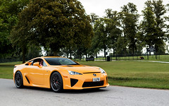 LFA. (Alex Penfold) Tags: lexus lfa supercar supercars super car cars autos alex penfold 2016 salon prive orange