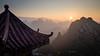 Sunrise over Xingping. (Pierre Bodilis) Tags: china mountain sunrise xingping guilinshi guangxizhuangzuzizhiqu cn