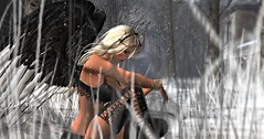 Darkened Angel 2 (Memories by Hope Photography) Tags: firestorm secondlife secondlife:region=lostboys secondlife:parcel=ironwoodhillswwwflickrcomgroupsironwoodhills secondlife:x=177 secondlife:y=25 secondlife:z=11 female models angels