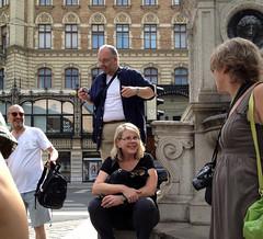 Gleich startet der Photowalk (Martin Ladstaetter) Tags: vienna wien photowalk vienne photowalkwien photowalkvienna pwvie