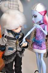 Snowy's girlfriend (Mista-Oro) Tags: monster high vampire dreaming elf tiny fairyland ltf chiwoo