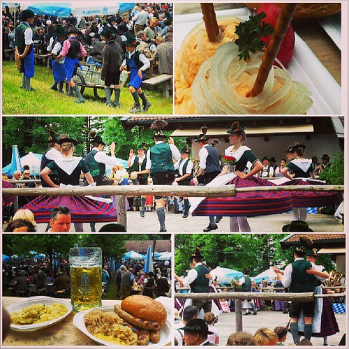 Hirschbergler #Waldfest am #Tegernsee.