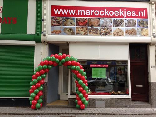 Ballonboog 6m Marockoekjes Rotterdam