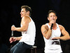 Nick Lachey & Jeff Timmons (amyshaped) Tags: jeff dallas nick 98 americanairlinescenter degrees lachey timmons canonsx50 thepackagetour