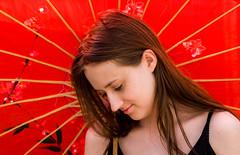 Laney parasol (LouC74) Tags: daughter parasol laney