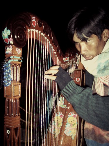 Harpe andine, Apurimac, Pérou