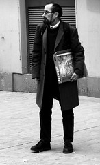 Man with Box (Kojotisko) Tags: street people brno cc creativecommons czechrepublic streetphoto