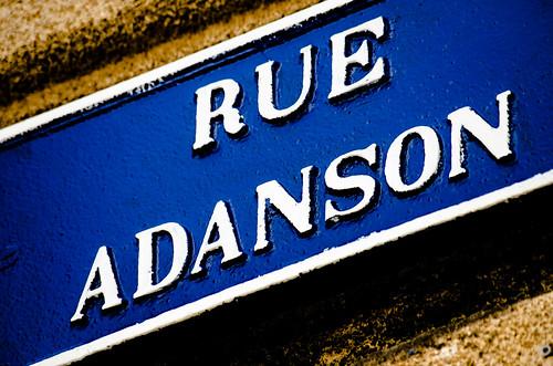 RUE ADANSON
