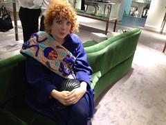 Fall fun (Nicole Eymard) Tags: red moon london fashion vintage nicole mercury head curly bow sailor cheerleader gems mackey londonfashionweek fashionforestry uploaded:by=flickrmobile flickriosapp:filter=nofilter nicolemackey