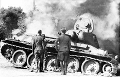 """Tank T-34 (91) • <a style=""""font-size:0.8em;"""" href=""""http://www.flickr.com/photos/81723459@N04/10322632436/"""" target=""""_blank"""">View on Flickr</a>"""